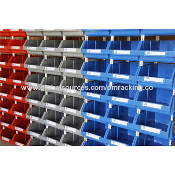 ... China Divider Plastic Storage Bins Hardware Or Small Parts Storge Box  Bins With Dividers
