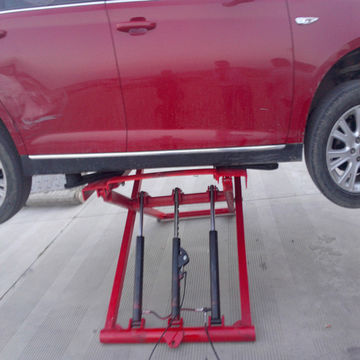 China Yyj 2800 Movable Car Lift With Adjustable Four Arms On