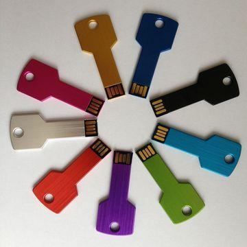 Cheap Custom Logo USB 4GB 8GB Gold/silver Metal Pendrive USB Key