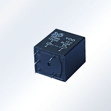China 4117 4P 25A PCB Open Relay, 1C, 1U on Global Sources