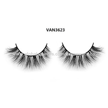 China Private Label 3D Real Mink Fur Eyelashes
