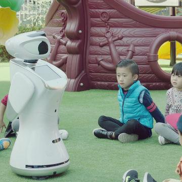 Qihan cloud-brained intelligent human like programming robots
