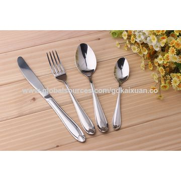 Dining Ware Knives, Spoon Fork Type Cutlery Sets KX-S151