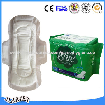 Myanmar mini flower 240mm thick sanitary pads, manufacturer