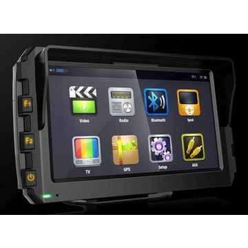 Ruggedized mobile data terminal with 7-inch capacitive touch screen for vehicle dispatching system