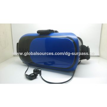 Bluetooth Fashionable 3D VR Glasses, Left and Right 3D Movie and 3D Game and Color Available