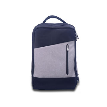 China OEM Large Capacity 16000mAh Power Bank Bag Smart Backpack for 15.6