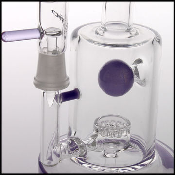 China Slyme/Purple Glass/Jet Percolater Oil Rig, Dab Rigs