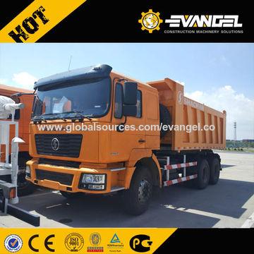 China Descargador Del Camión Volquete 36200kg De Shacman F200 De La