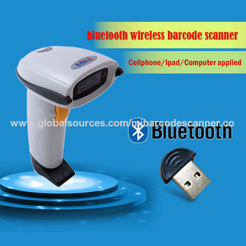 China Bluetooth Portable Wireless Barcode Scanner, for