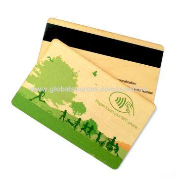 china plastic credit card size bonus card - Plastic Credit Card