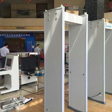 Public security walk-through metal detector