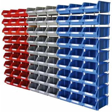 china warehouse plastic nut and bolt storage bin wholesale on