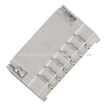 China 1.0mm Pitch Wire to Board Connector, Horizontal SMT, R/A type ...