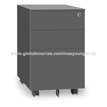Ordinaire ... China Factory Price 3 Drawer Steel File Cabinet, Metal Office Mobile  Pedestal, Office Mobile ...