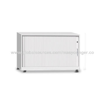 ... China Plastic roller tambour door steel cabinet office 3 drawer mobile caddy ...  sc 1 st  Global Sources & China Plastic roller tambour door steel cabinet office 3 drawer ...