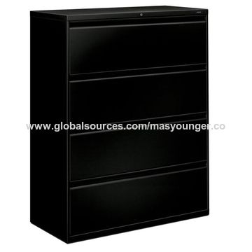... China Best Office Furniture A4 Size Drawings Steel File Cabinet, Single  Hanging File 4 Drawer ...