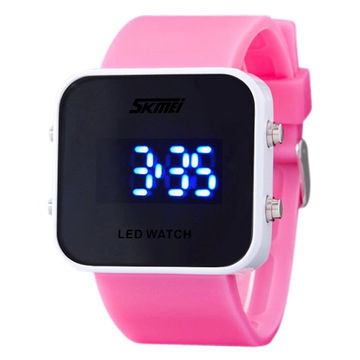 korean on watch student electronic with s piece watches fashion couple led product creative online waterproof boy store