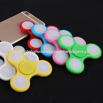 Hot Fidget Spinner, Battery Operated Toys/Made of Metal/Great Toys for Young for Pressure Reduction