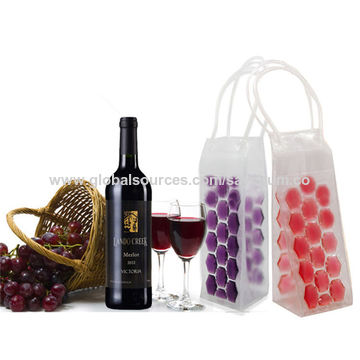 China Pvc Wine Bottle Ice Bag Rapid Cooler Cool Can Cooling Gel Holder
