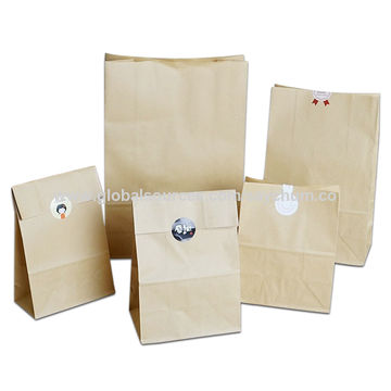 China Brown Kraft Paper Cake Bags Box Food Ng Jewelry Bread Candy Party
