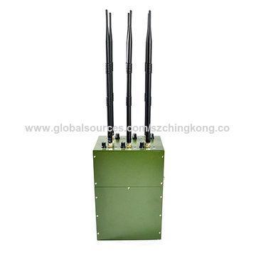 China Portable Manpack UAV Jammer,Built-in Battery 6 bands
