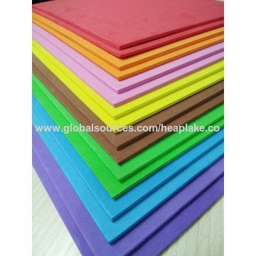 China Colorful EVA Material Multifunction 4x8 Foam Sheets on Global ...