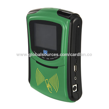 China RFID Barcode scanner for vehicles with 4G and GPS on