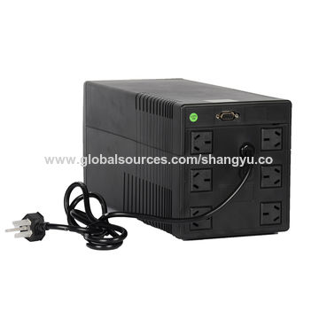 China Ups Backup 220v 1kva Ups Wholesale Led Lcd Offline Ups
