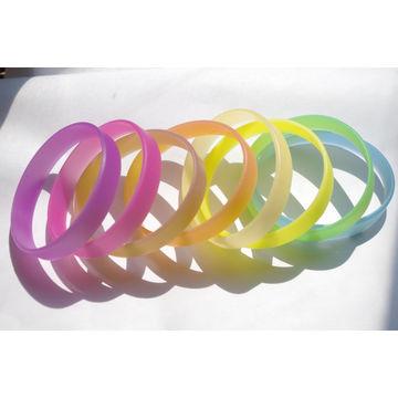 China Sun Sense Color Change Uv Sensitive Silicone Bracelet Band