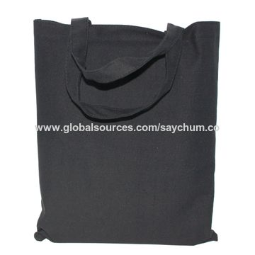 China Foldable Reusable Grocery Bags Canvas Ping Bag Cotton Fabric Eco Tote