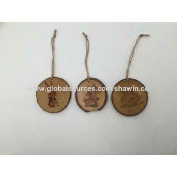 china hanging wooden round animal crafts home decoration ornaments