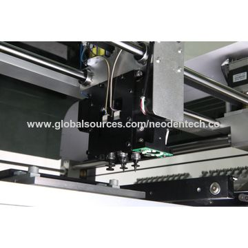 Pick and Place Machine with CCD Camera, Four Nozzles,Auto Rails,SMT Production Line