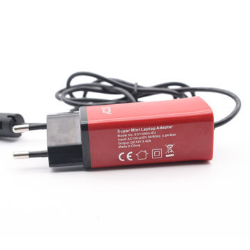 China Super Mini 65W Laptop AC Adapter Level VI CE UL CB FCC Approved