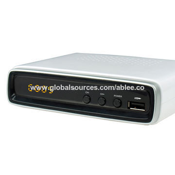 China Zapper ISDB-T digital STB with HDMI/SPDIF/RCA output and LED