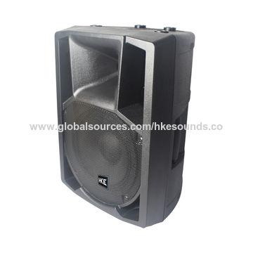 China Professional 8 Inch Plastic Speaker PTQ 08