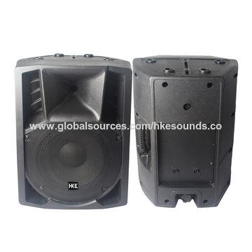 Professional 8 Inch Plastic Speaker PTQ 08