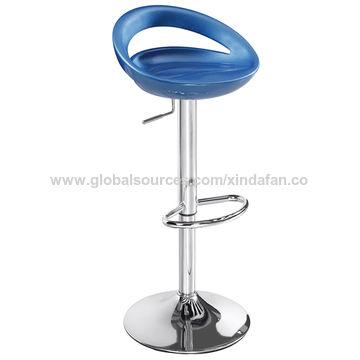 ... China Adjustable Bar Stool Chair With Fiberglass Back ...