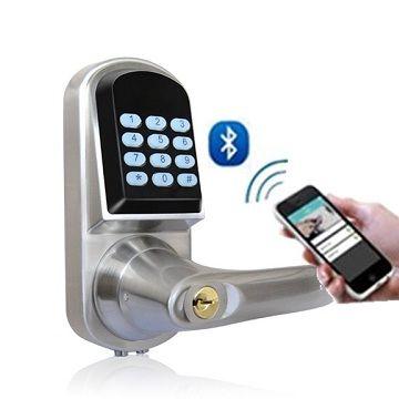 ... China Bluetooth Password Phone Unlock Smart Door Lock ...