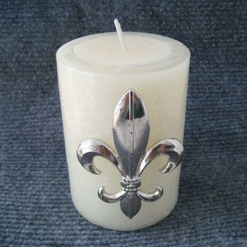 China Gold Fleur De Lis Candle Pin On Global Sources