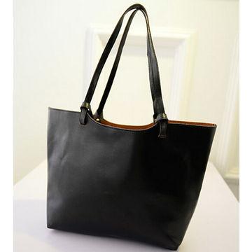 ... Hong Kong SAR China factory fashionable PU leather handbags 0bc5289174a98
