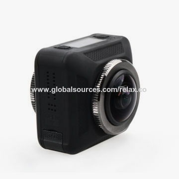 China 2017 Dual Lens Panoview 360-degree All Viewer Sports 4K Action