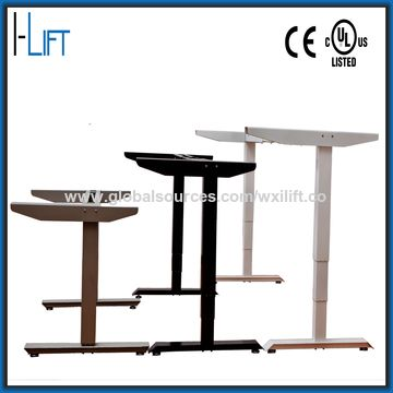 ... China Electric Height Adjustable Desk Frame With Two Legs, ...