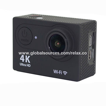 China Wireless Diving 4k Sports Action Camera With Remote Control