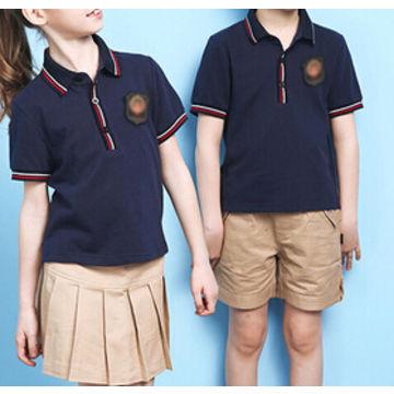 f113206c ... China Beautiful African Green School Uniform Polo Shirts Design ...