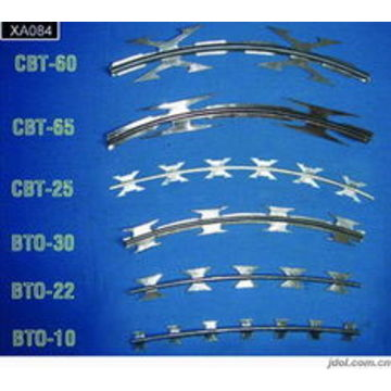 Razor Barbed Wire   China Home Depot Wires Hot Dipped Razor Barbed Wire Price For Sale