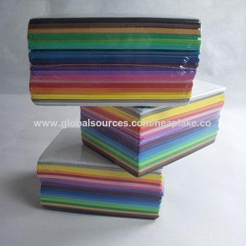 China EVA Foam School Supplies, EVA Foam Sheets, Good Price, Colored ...