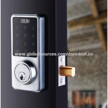 China Smart Touchscreen Deadbolt, Keyless Home Entry with Smartphone