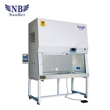 ... China Biological Safety Cabinet For Single Person 100% Air Exhaust ...