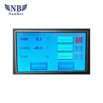 china manifold top press freeze dryer for sale freeze dryer equipment from china